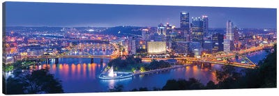 The Steel City Canvas Art Print