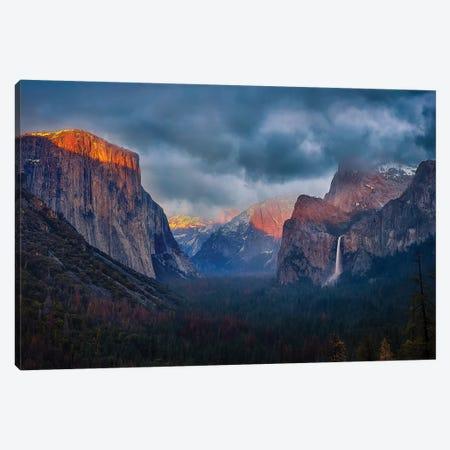 The Yin And Yang Of Yosemite Canvas Print #OXM4737} by Michael Zheng Art Print