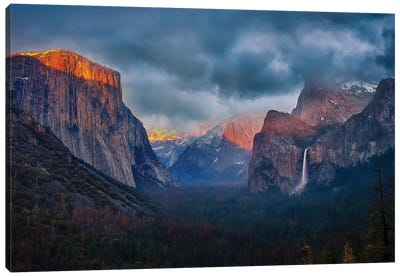 The Yin And Yang Of Yosemite Canvas Art Print