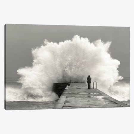 Waves Photographer Canvas Print #OXM4739} by Mikel Lastra Canvas Wall Art