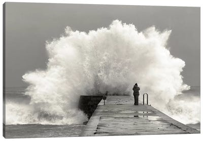 Waves Photographer Canvas Art Print