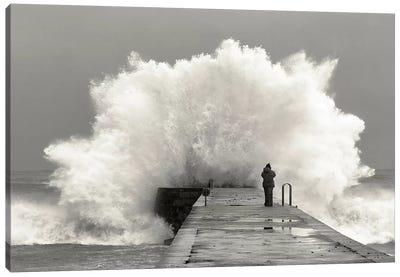 Waves Photographer Canvas Art Print