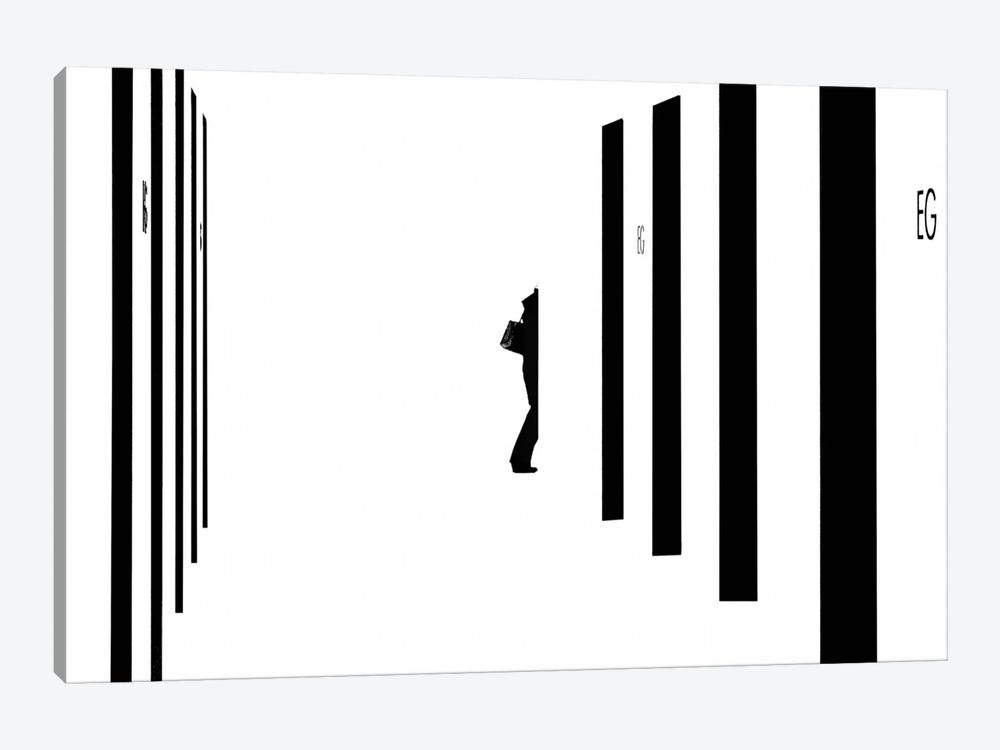 Barcode by Andreas Bauer 1-piece Canvas Artwork