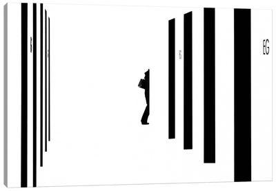 Barcode Canvas Art Print