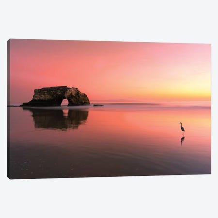 Sunset At The Natural Bridge-2 Canvas Print #OXM4770} by Rob Li Canvas Art