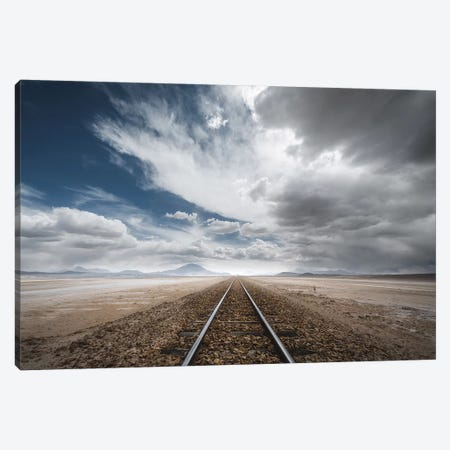 The Long Road Canvas Print #OXM4784} by Rostovskiy Anton Canvas Wall Art