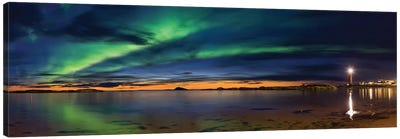 Sunset At Andenes Canvas Art Print