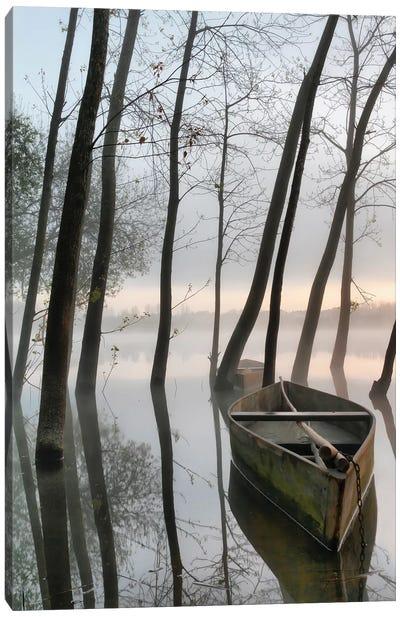 Serene Dawn Canvas Art Print