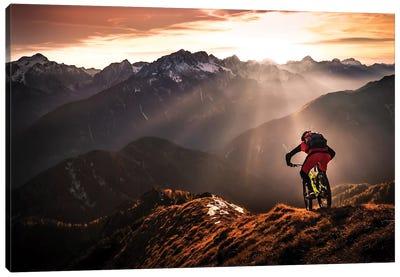 Just Ride ... Canvas Art Print