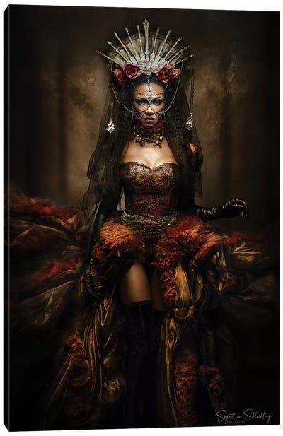 Lady Of The Night Canvas Art Print