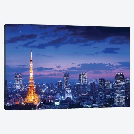 Tokyo Night View Canvas Print #OXM4813} by Takao Kataoka Canvas Print