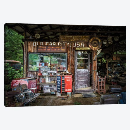 Old Car City Canvas Print #OXM4830} by Tony Mearman Canvas Print