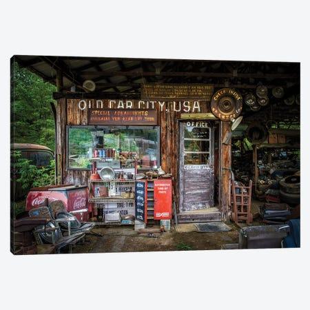 Old Car City Canvas Print #OXM4830} by Tony Mearman Canvas Print