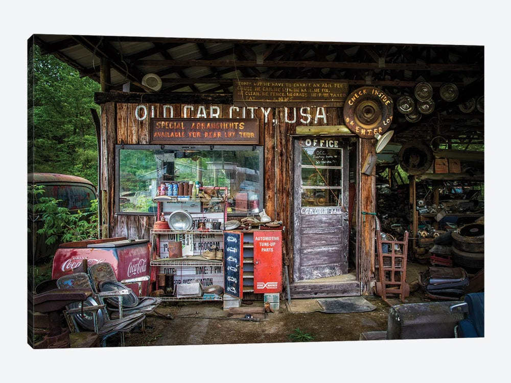 Old Car City by Tony Mearman 1-piece Art Print