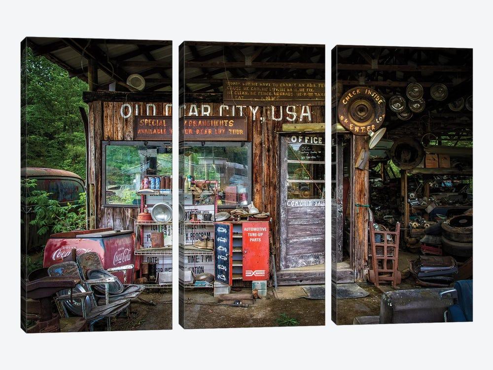 Old Car City by Tony Mearman 3-piece Art Print