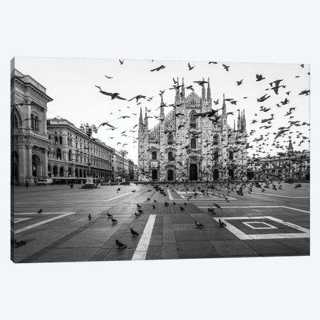 Hitchcock In Milano Canvas Print #OXM4834} by Tzvika Stein Canvas Artwork