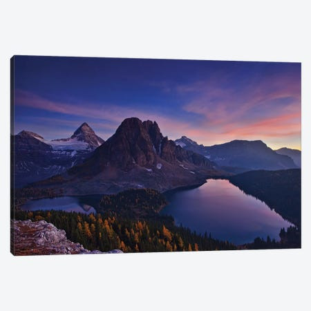 Twilight At Mount Assiniboine Canvas Print #OXM4847} by Yan Zhang Canvas Art Print