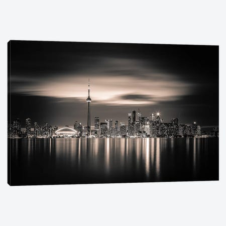 Toronto Canvas Print #OXM4849} by Yoann Canvas Artwork