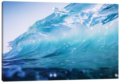 Glass Wave Canvas Art Print
