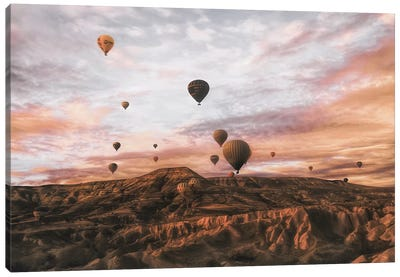Cappodocia Hot Air Balloon Canvas Art Print