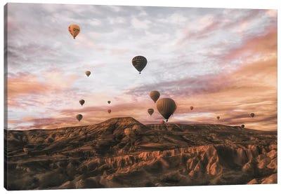 Cappodocia Hot Air Balloon Canvas Art Print