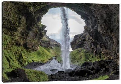 Hidden Waterfall Canvas Art Print