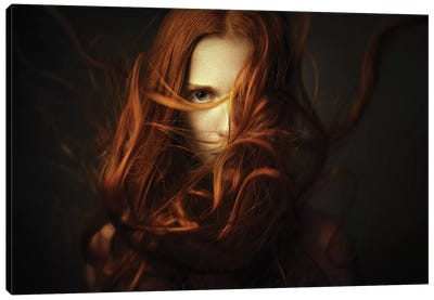 Hot Stare Canvas Art Print
