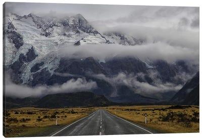 Road To Mt Cook Canvas Art Print