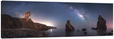 Sea Of Galaxies Canvas Art Print