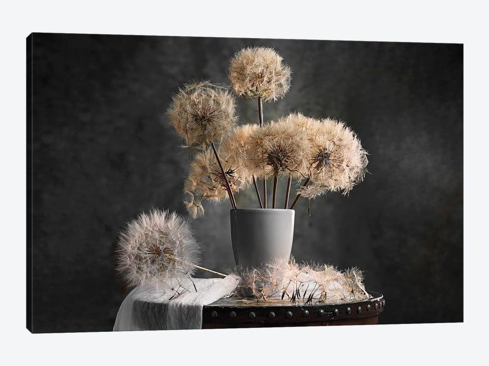 Dandelion Seed Pod by Lydia Jacobs 1-piece Art Print