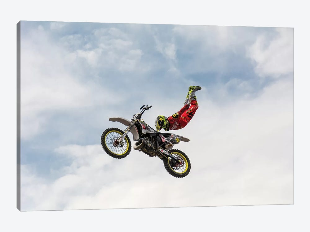 No Hands Superflyer by Mircea Vlasceanu 1-piece Canvas Artwork