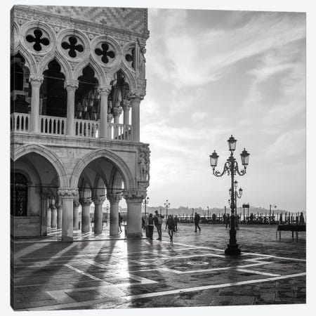 Early Morning - Venice Canvas Print #OXM4949} by Nigel Snape Art Print
