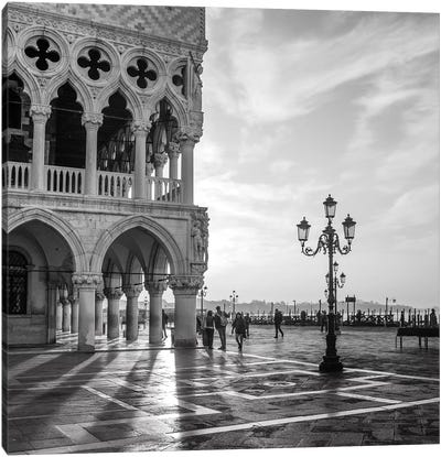 Early Morning - Venice Canvas Art Print