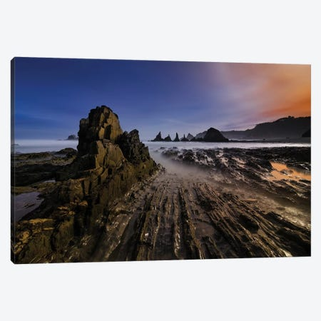 Magic Beach Canvas Print #OXM494} by Alberto Garcia Canvas Artwork