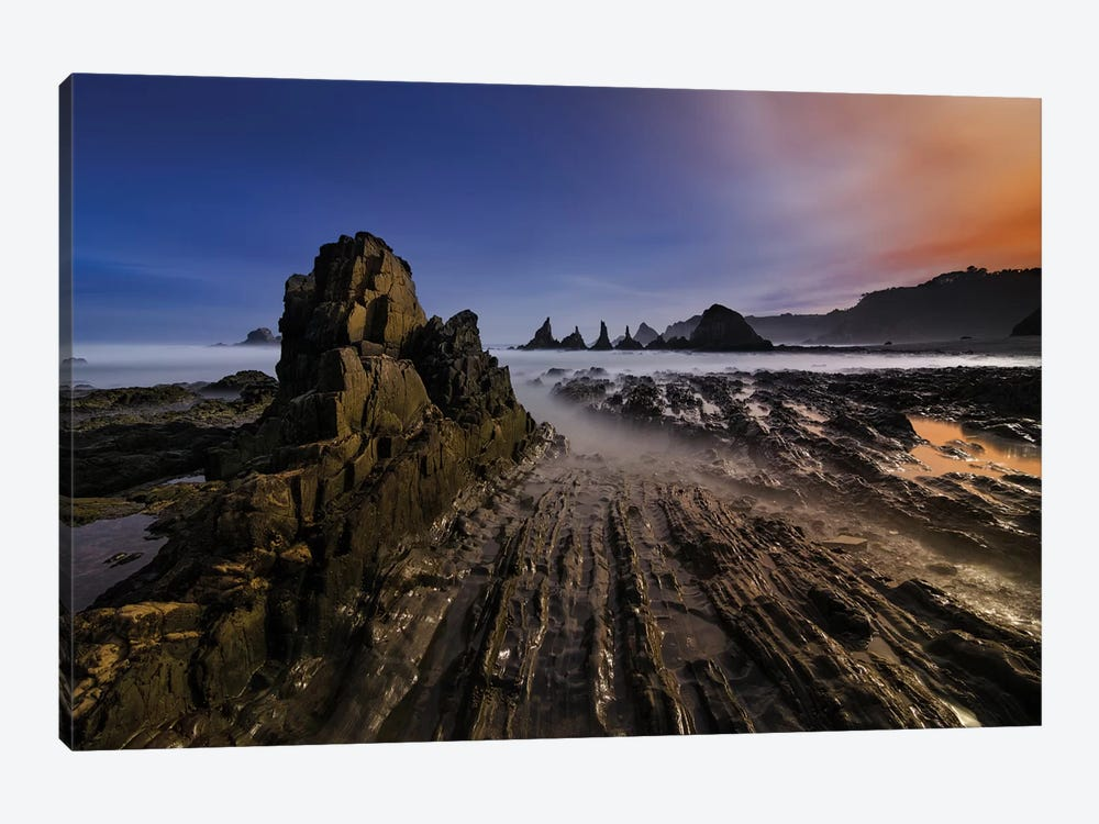 Magic Beach by Alberto Garcia 1-piece Canvas Print
