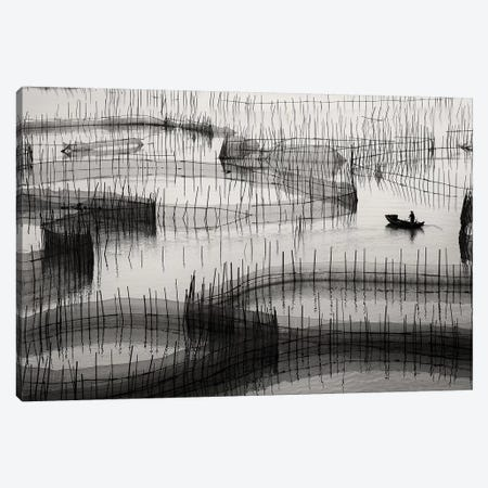 Waiting For The Catch Canvas Print #OXM4967} by Ahmed Abdulazim Canvas Wall Art