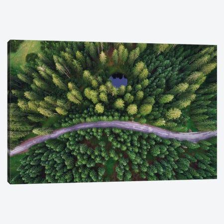 Hidden Lake Canvas Print #OXM4977} by Ales Krivec Canvas Art Print