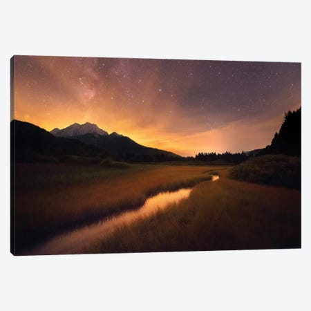 Zelenci Springs Canvas Print #OXM4982} by Ales Krivec Canvas Print