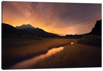 Zelenci Springs Canvas Art Print
