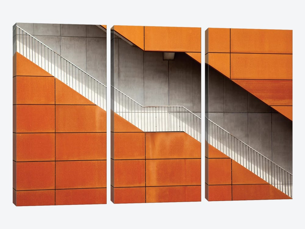 Steel by Alida van Zaane 3-piece Canvas Wall Art