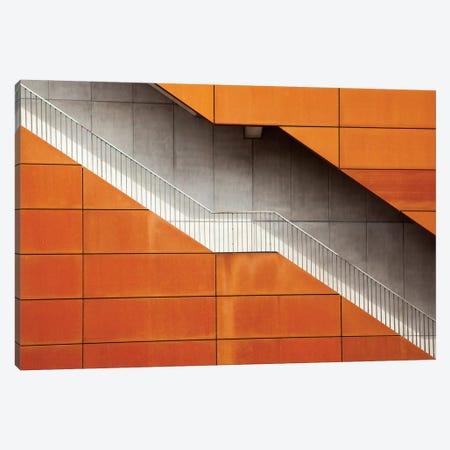 Steel 3-Piece Canvas #OXM501} by Alida van Zaane Canvas Print
