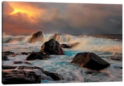 After Storm Wave Canvas Art Print