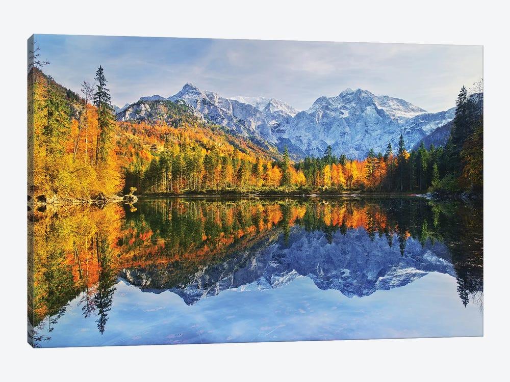 Autumn Reflections by Burger Jochen 1-piece Canvas Print
