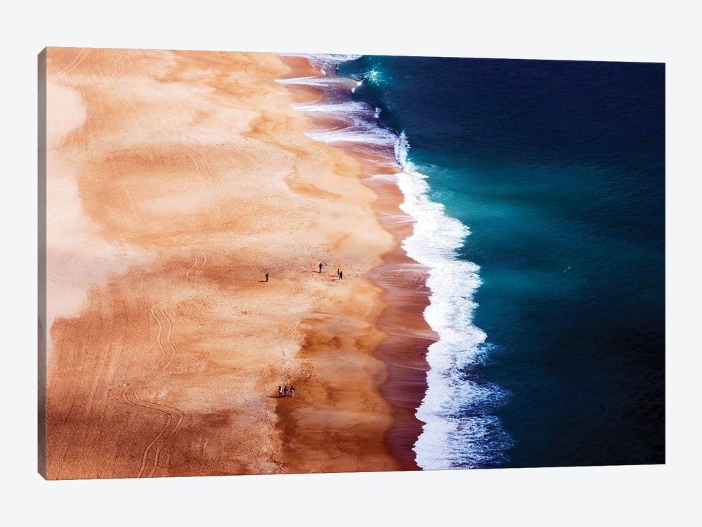 Silver Coast by Cbomersphotography 1-piece Canvas Art Print
