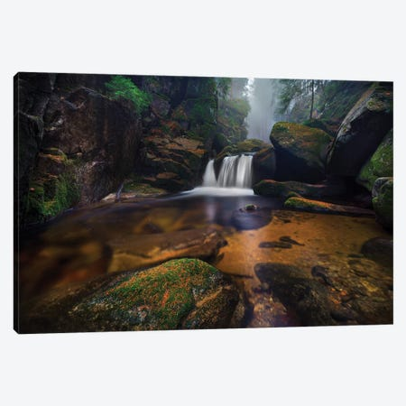 River Tales Canvas Print #OXM5061} by Damian Stoszko Canvas Print