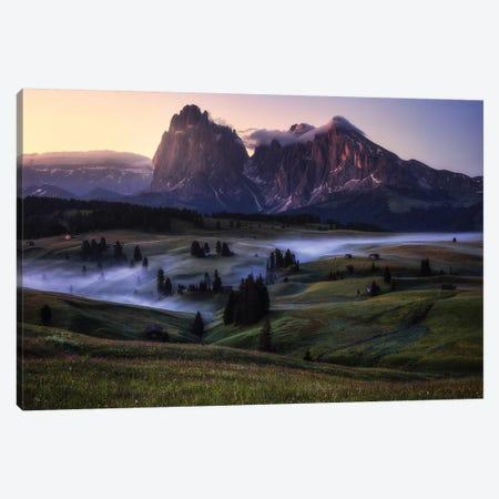 An Alpine Morning Canvas Print #OXM5067} by Daniel Gastager Canvas Art