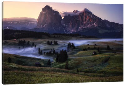 An Alpine Morning Canvas Art Print