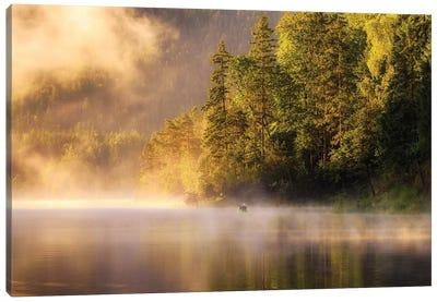 Enjoying Nature Canvas Art Print