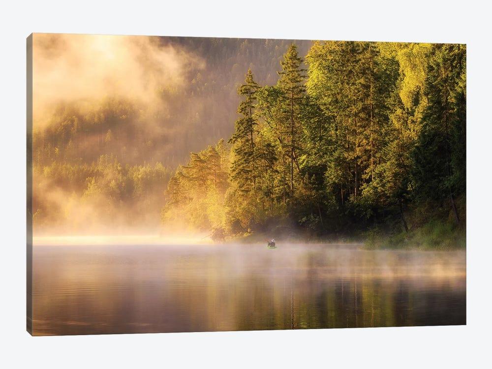 Enjoying Nature by Daniel Gastager 1-piece Canvas Artwork