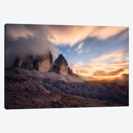 The Final Moment Canvas Print #OXM5074} by Daniel Gastager Canvas Art Print